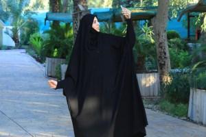 عباية النور / الموديل اللبناني الحديث